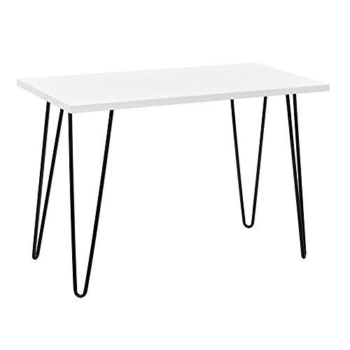 ameriwood home 9327015com owen collection retro desk, white
