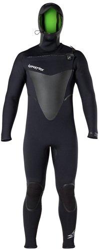Hyperflex Wetsuits Men's Voodoo 4mm Hooded Front Zip Full...