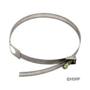 Pentair Rainbow R172264 300-29X Chemical Feeder Saddle Clamp, Stainless Steel, Old Style by Pentair (Image #1)