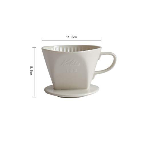 Antennababy V60 gotero de café Cono de cerámica Goteo Manual ...