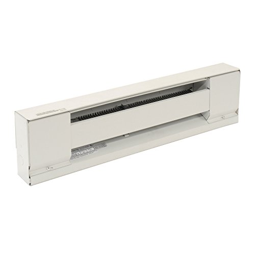 TPI Corporation E2915-072SW Electric Baseboard Heater,  Stainless Steel Element, 1500 Watts, 120 Volt, 72