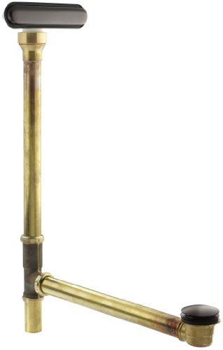 Kohler K-7271-2BZ Clearflo Slotted Overflow Brass Bath Drain, Oil Rubbed Bronze ()