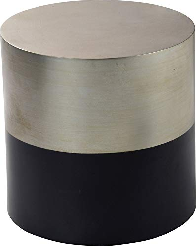 Ren-Wil TA258 Accent Table, Small, Champagne Silver ()