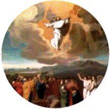 Ascension of Jesus Christ Keychain