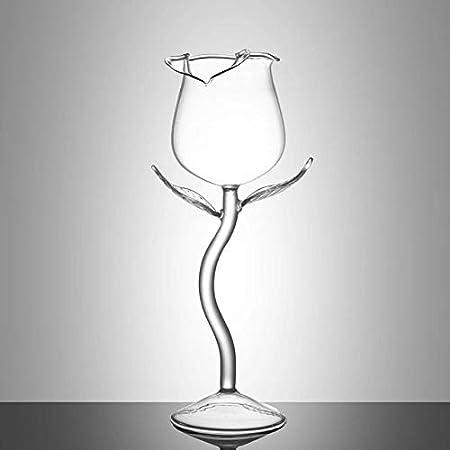 Vaso De Whisky Copas De Vino Copa Forma De Flor Copa De Vino Tinto Copa De Vidrio Transparente Copas De Vino Copa De Vino,100 Ml,51-100 Ml