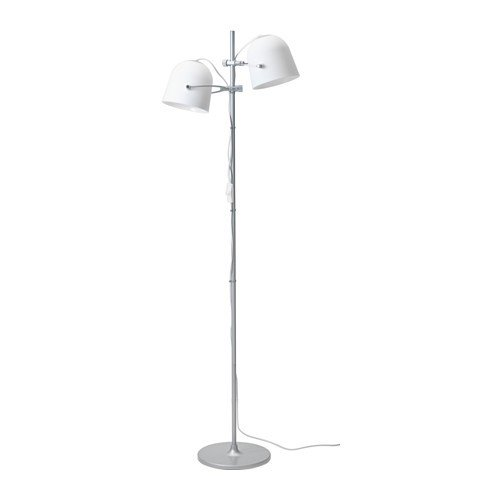 Ikea svirvel lámpara de pie en color blanco; A + +; (159 cm ...