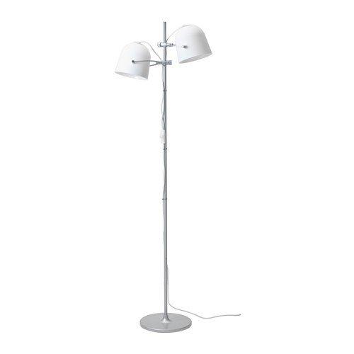 Ikea svirvel lámpara de pie en color blanco; A + +; (159 cm ...