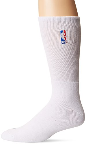 NBA Logoman Crew Sock - White
