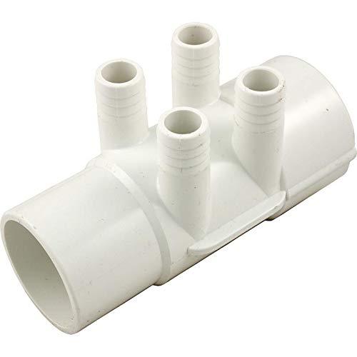 """Waterway Plastics 806105121257 2"""" S X 2"""" Spg X (4) 3/4"""" Barbs Manifold from Waterway Plastics"""