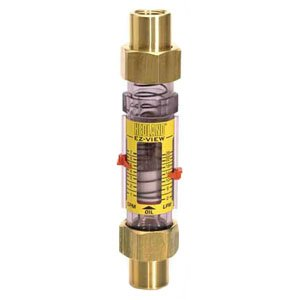 - Hedland H621-028 EZ-View Flowmeter, Polysulfone, For Use With Water, 4.0 - 28 gpm Flow Range, 1