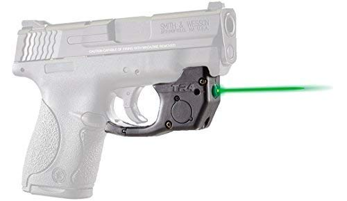 (ArmaLaser TR4G Designed for Smith & Wesson S&W Shield Super-Bright Green Laser with Grip Activation)