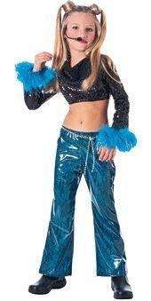 Mega Star Costume Girl - Child Medium (Cool Costumes For Sale)
