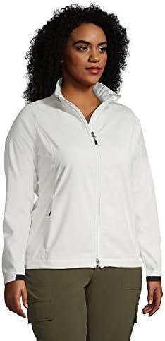 Lands' End Women's Soft Shell Fleece Jacket