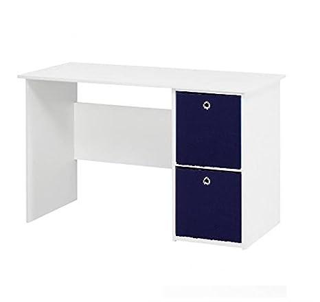 Acabado blanco Office mesa para ordenador/estación de trabajo/mesa ...