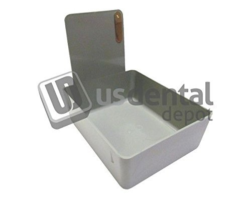 - KEYSTONE - Classic Lab Work Pans - Grey w/clip - 12pk - made 034-7000378 Us Dental Depot