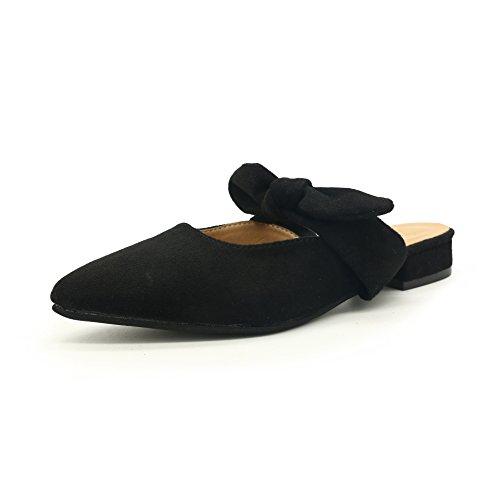 Pajarita 5Cm Frescos Son De Baotou Negro GAOLIM Punta En Como Y Zapatos Zapatos Llevar Con Casa Verano Mujer 3 De Zapatos De Una w1xaqI