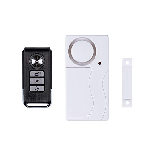 SABRE HS-DWA-R-UK Loud 120 dB Home Security Burglar Alarm with Remote | Easy DIY installation for windows or doors with…