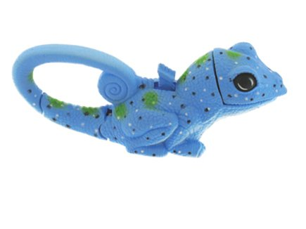 Lifelight Animal Carabiner Flashlight - Blue Lizard | Cute Animal Keychain (Lizard Animals)