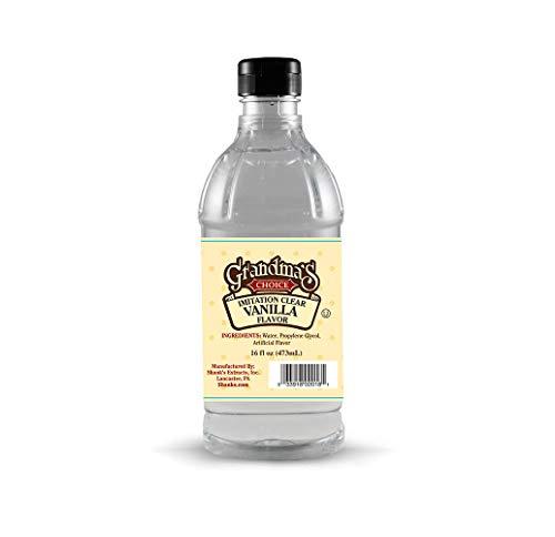 Grandma's Choice Imitation Clear Vanilla, 16 Fluid Ounce