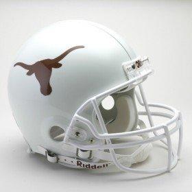 (Texas Longhorns Riddell VSR4 Authentic Full Size Football Helmet)