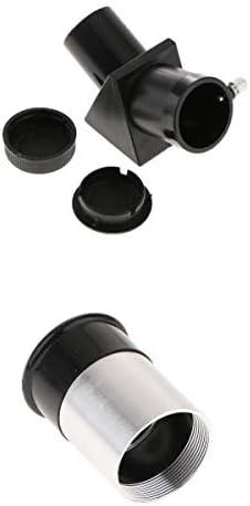 MagiDeal Astronomie telescoop Prisma diagonale adapter spiegelH6 mm oculair 0965 inch