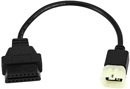 KTM 6 pin to obd 16 pin adapter cable for TuneECU software to