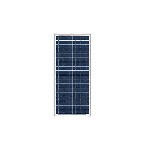 Solarmodul Photovoltaik 20W 12V Polykristallines Installation Camper Boot Hutte