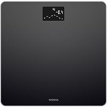 Nokia Body - BMI Wi-Fi Scale, Black
