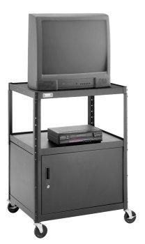 UPC 717068386204, Da-Lite PIXMate Height Adjustable Television Cart with Cabinet (PM6C-42J)
