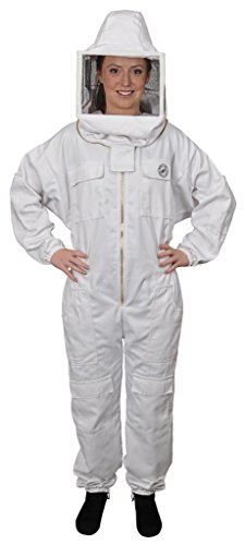 Humble Bee 412-L Polycotton Beekeeping Suit with Square V...