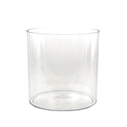 Amazon Homeford Fbb00vasq606 Clear Acrylic Cylinder Vase