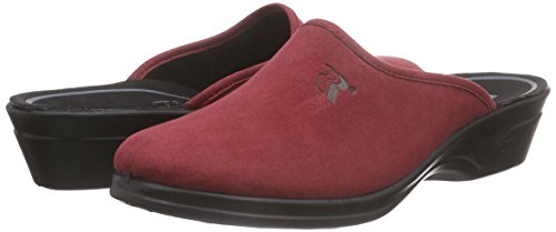 Femme Chaussons Mules 122 Rouge Fr Remo red Romika tZqw7HWXWx