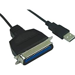 USB to Centronics 36 / IEEE 1284 Parallel Cable