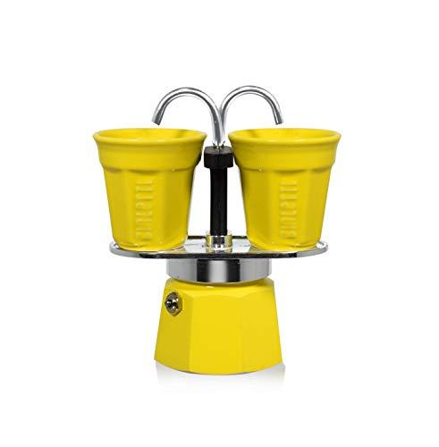 - Bialetti 6193 Mini Express Espresso Maker Set, Yellow