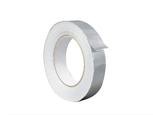 WOD AF-12R Aluminum Tape/Aluminum Foil Tape - 0.75 inch x 150 feet (2.8 mil) Pack of 1 - Good for HVAC, Ducts, Insulation and More (Available in Multiple Sizes) Pack of 1
