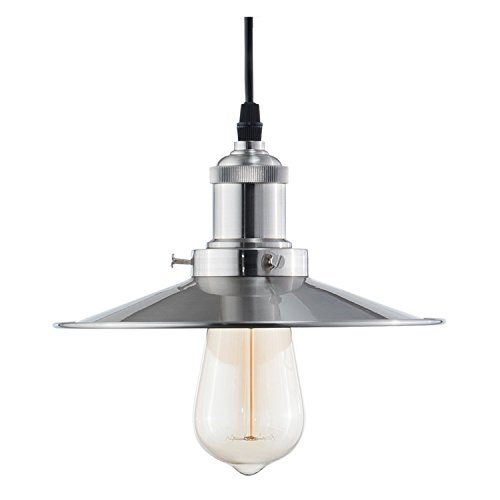 Light Society Avenue Mini Pendant Light, Brushed