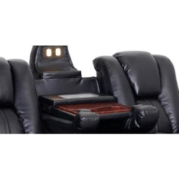 Amazon Com Seatcraft Innovator Reclining Sofa With Power And Drop