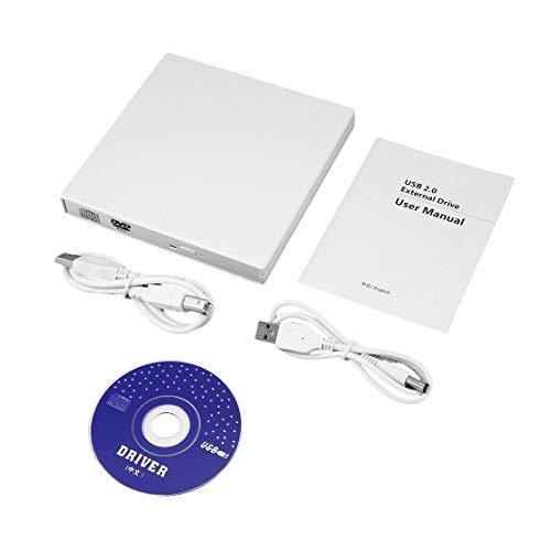 Universal USB External Combo Optical Drive CD/DVD Player CD Burner PC Laptop Win 7 8 DVD Burner Drive Computer by Exiao