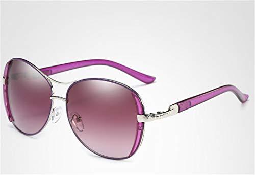 UV400 XIYANG para conducción Sol de Purple Gafas Gafas antideslumbrante una Lente HD Rojo cómoda polarizada R0R7wx
