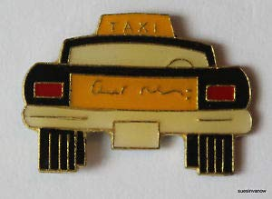 (Quality Handcrafts - Yellow Taxi Pin Cab Tie Tac Ballcap New York Biker Hat Big Apple Car Automobile - Accessories for Clothes Decoration)