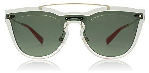 Valentino VA4008 502471 Transparent VA4008 Round Sunglasses Lens Category 3 - Round Sunglasses Women's Valentino