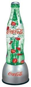Coke Bottle Bubbler Lamp by Coca-Cola