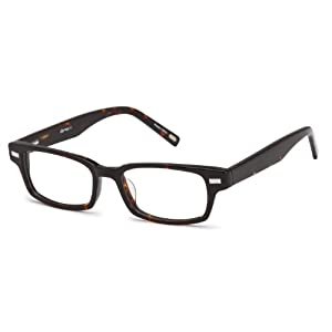 Unisex Wayfarer Glasses Frames Tortoise Prescription Eyeglasses Rxable 49-17-145