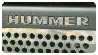hummer grill - 1