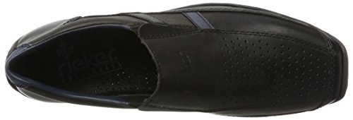 Rieker Mens Toffel Svart / Nero / Royal Svart / Nero / Royal
