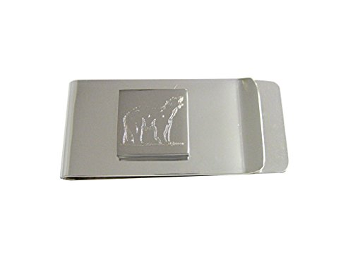 silver-toned-etched-polar-bear-money-clip