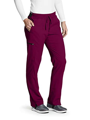 Grey's Anatomy GRSP500 Cargo Pant - Spandex Stretch Wine L ()