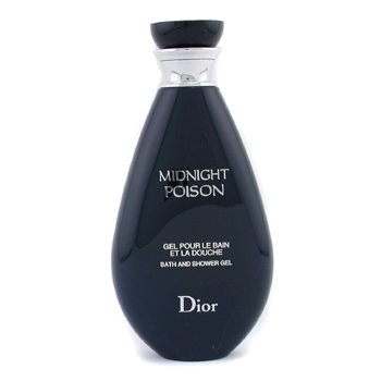 44a6f7fabd Image Unavailable. Image not available for. Color: Christian Dior Midnight  Poison Bath & Shower Gel ...