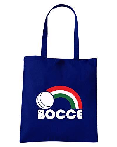 BALL Speed Blu Borsa Navy BOCCE Shopper Shirt OLDENG00311 rax0Pqr