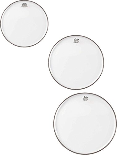 Remo Snare King Weather - Remo Emperor Clear Drumhead Pack